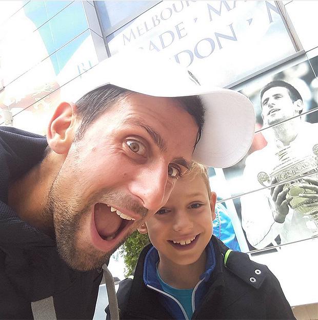 Djokovic e Mihailo Topic